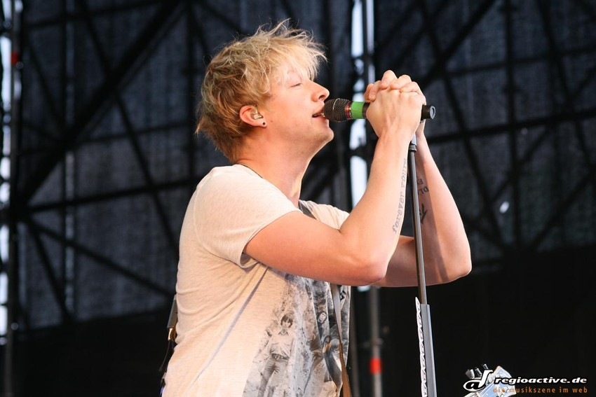 Sunrise Avenue (live in Darmstadt, 2011)